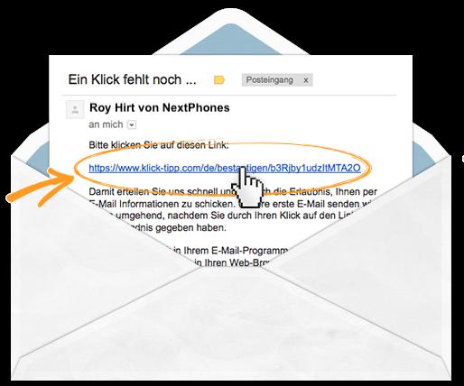 E-Mail-Bestätigung